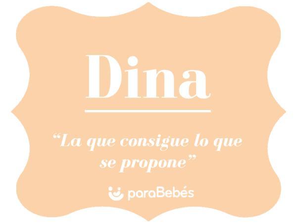 Significado del nombre Dina
