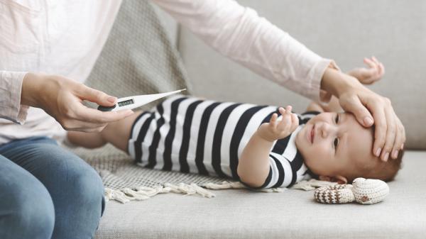 Síntomas de influenza en bebés - Fiebre