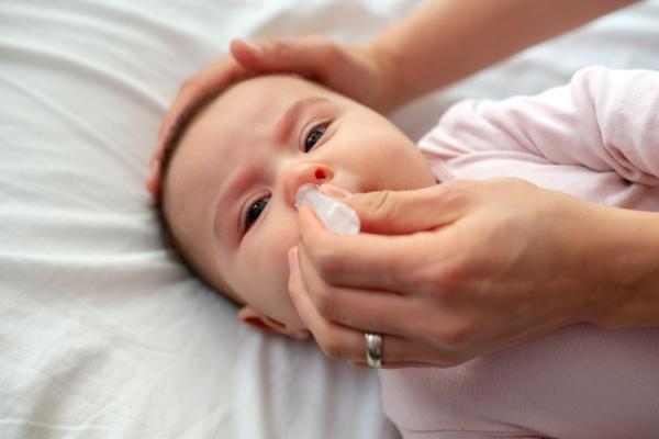 Síntomas de influenza en bebés - Secreciones y goteo nasal