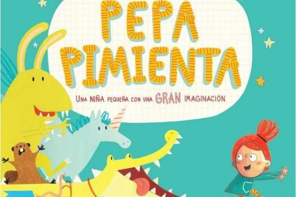 Libros para niños de 4 a 5 años - Pepa Pimienta. Editorial Norma