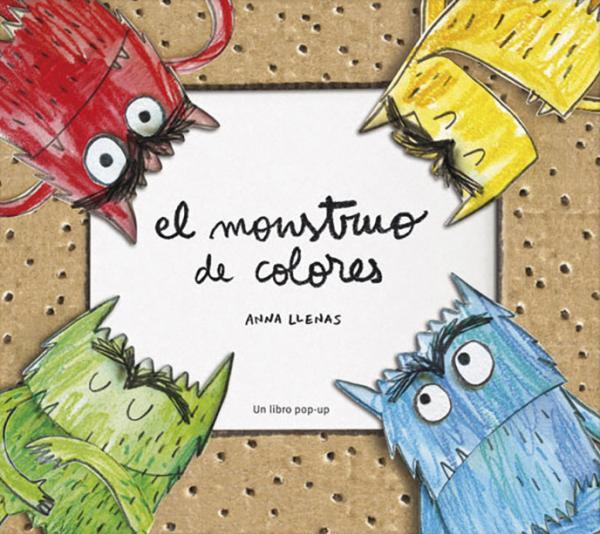 Cuentos para niños de 1 a 2 años - El monstruo de colores. Anna Llenas