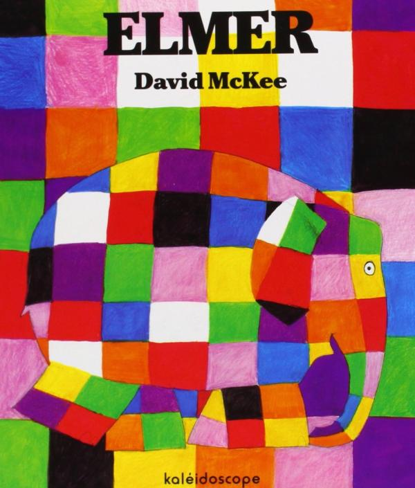 Cuentos para niños de 1 a 2 años - Elmer. David McKee