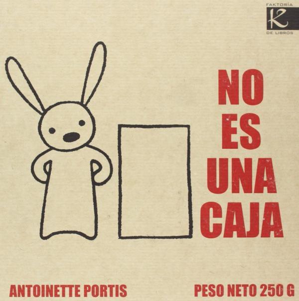 Cuentos para niños de 1 a 2 años - No es una caja. Editorial Kalandraka