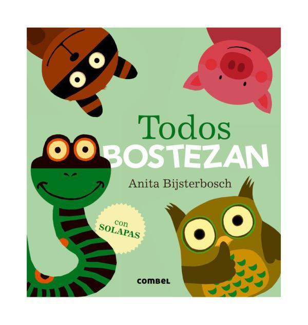 Cuentos para niños de 1 a 2 años - Todos bostezan. Editorial Combel
