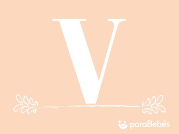 Nombres de niña con la letra V