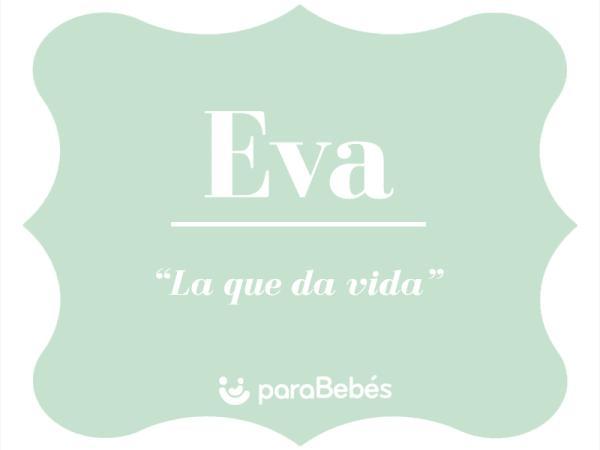 Significado del nombre Eva