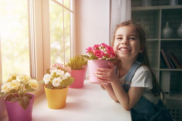 Juegos de confianza para niños de 3 a 5 años - ¡A plantar!