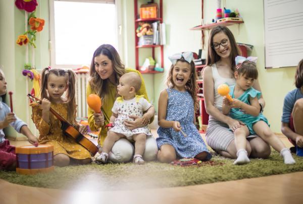 Juegos de confianza para niños de 3 a 5 años - El director de orquesta