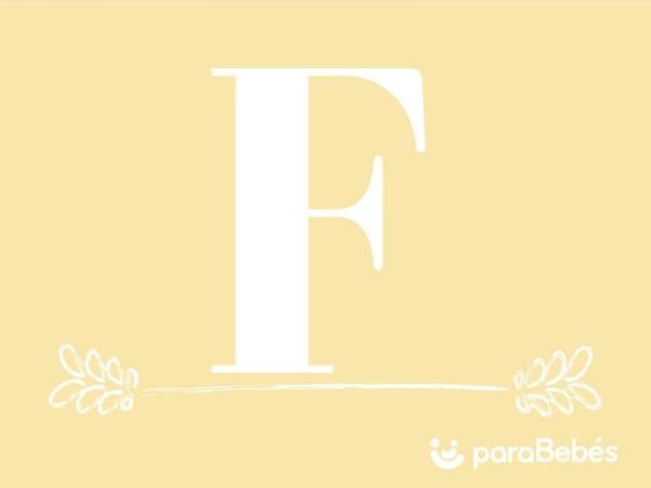 Nombres de niño con la letra F