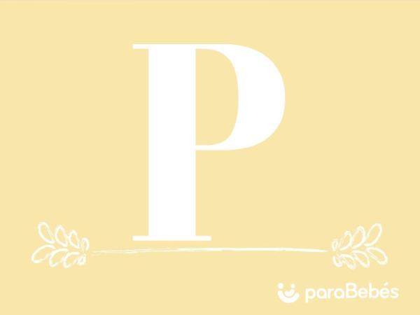 Nombres de niño con la letra P