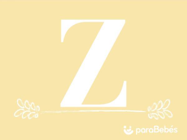 Nombres de niño con la letra Z