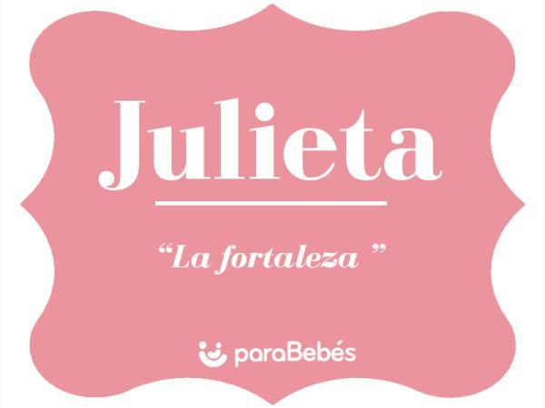 Significado del nombre Julieta