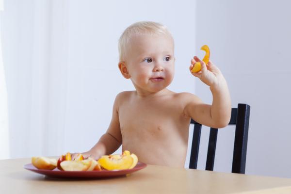 ¿Qué frutas puede comer un bebé de 6 meses? - Melocotones, paraguayas, albaricoques