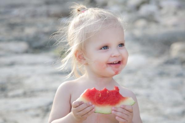 ¿Qué frutas puede comer un bebé de 6 meses? - Melón y sandía