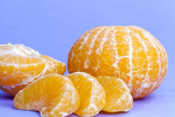 ¿Qué frutas puede comer un bebé de 6 meses? - Naranja y mandarinas