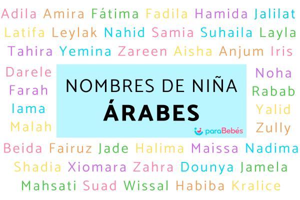 Nombres de niña árabes y su significado