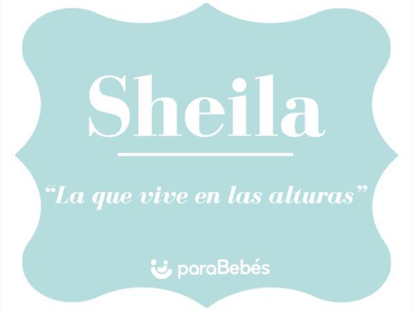Significado del nombre Sheila