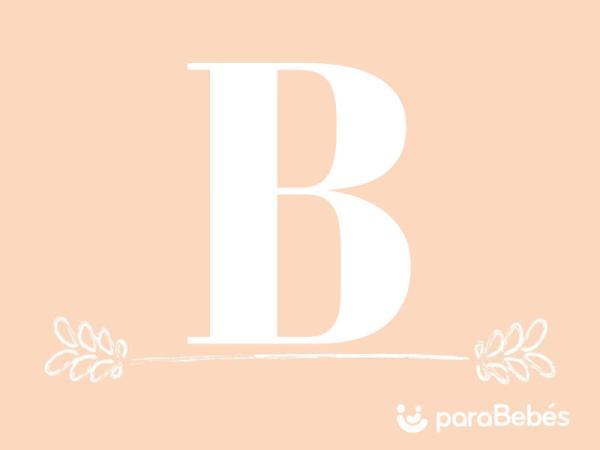Nombres de niña con la letra B