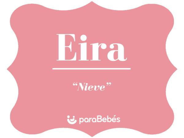 Significado del nombre Eira