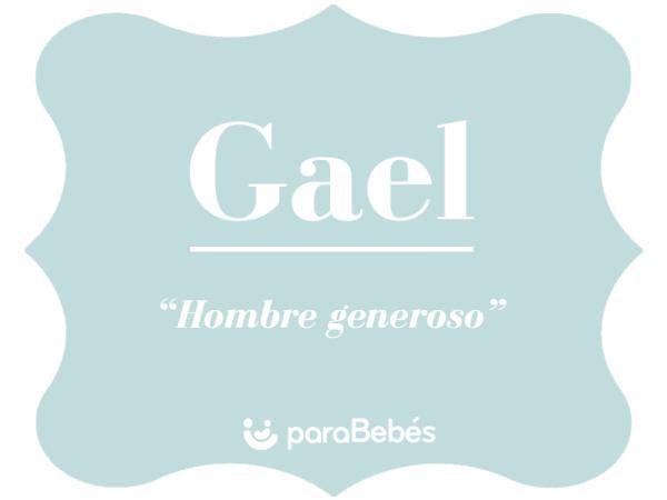 Significado del nombre Gael