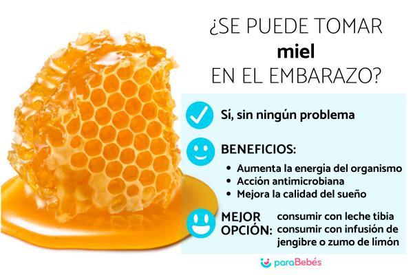 ¿Es bueno comer miel en el embarazo?