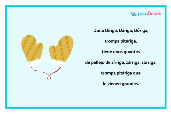 Trabalenguas infantiles - Doña Díriga