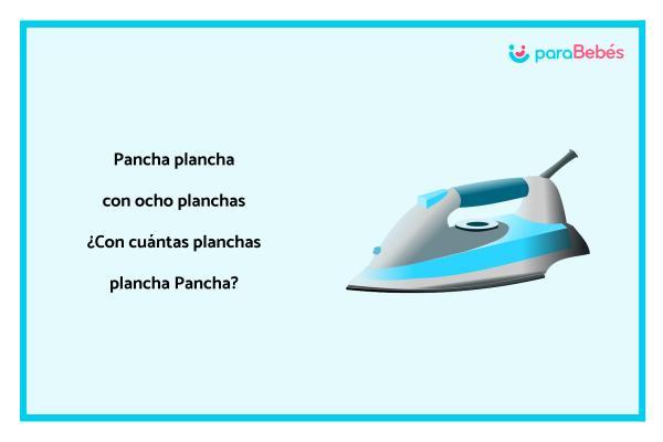 Trabalenguas infantiles - Pancha Plancha
