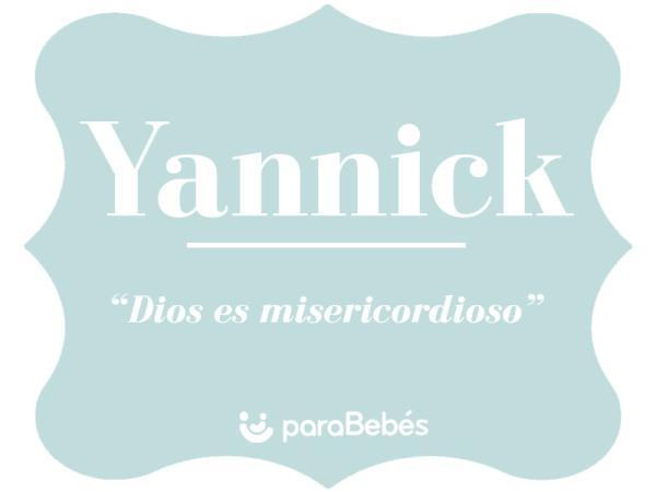 Significado del nombre Yannick