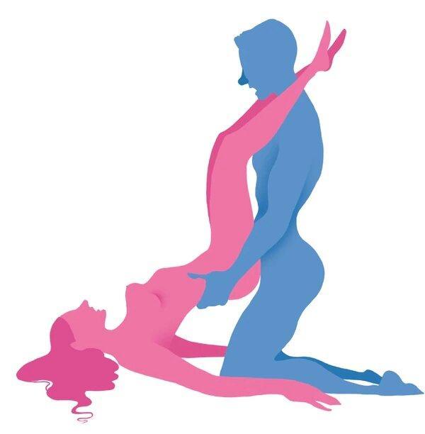 Posturas para quedar embarazada - El arco