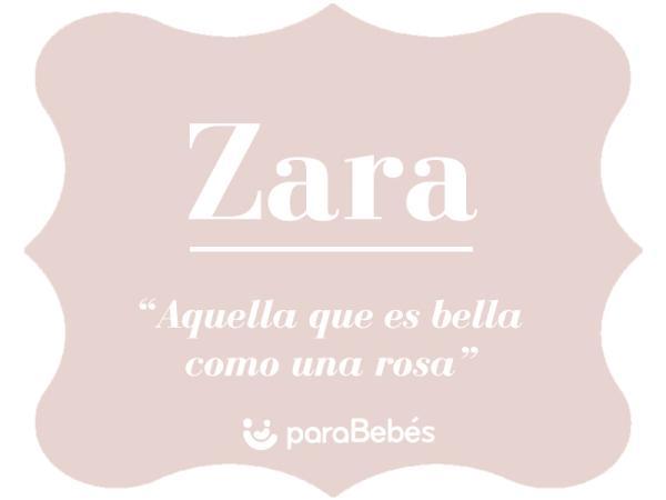 Significado del nombre Zara