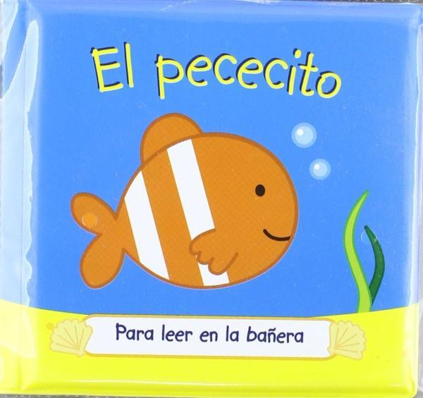 Libros para bebés de 0 a 6 meses - El pececito. Editorial Panini books