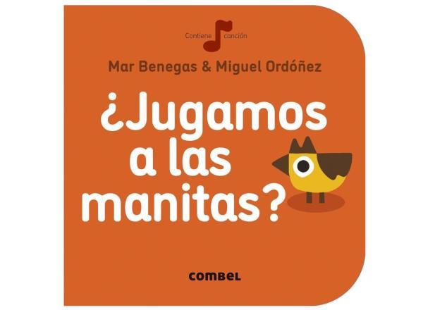 Libros para bebés de 0 a 6 meses - Las manitas. Colección La Cereza. Editorial Combel