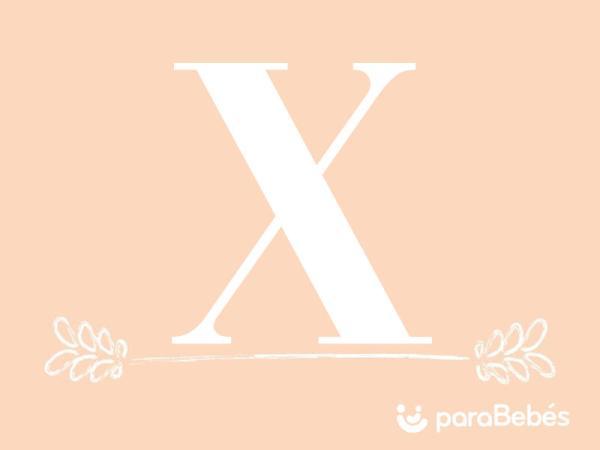 Nombres de niña con la letra X