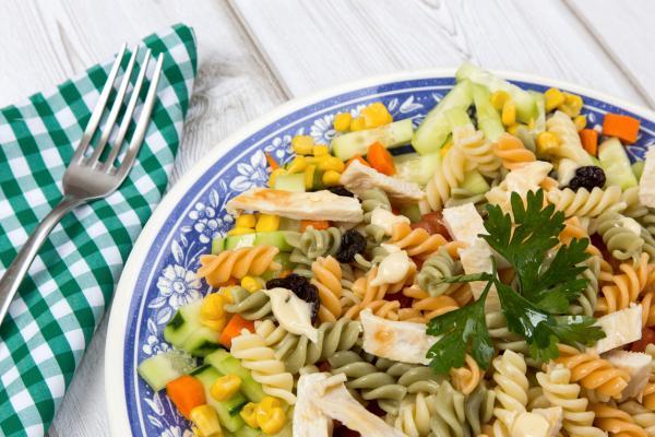 Comidas de verano para niños - Ensalada de pasta