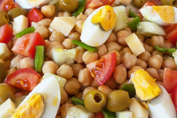 Comidas de verano para niños - Legumbres aliñadas