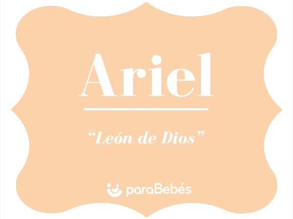 Significado del nombre Ariel