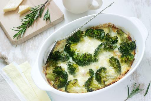Cómo preparar brócoli para bebés - Brócoli gratinado