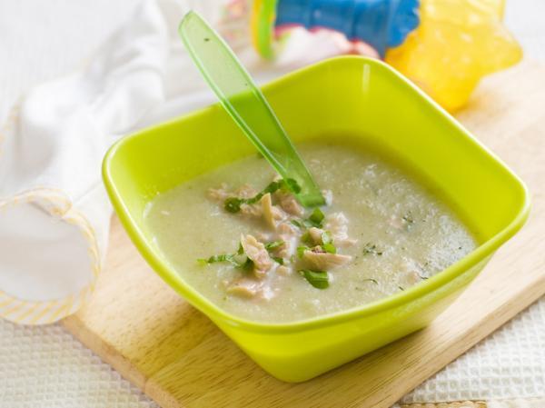Cómo preparar brócoli para bebés - Puré de brócoli con pollo