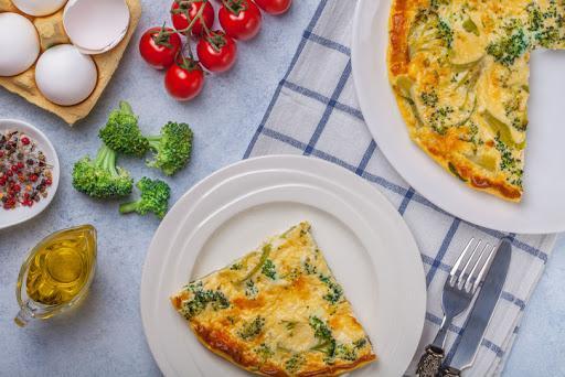 Cómo preparar brócoli para bebés - Tortilla de brócoli