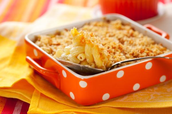 Comidas saludables para niños - Macarrones con queso