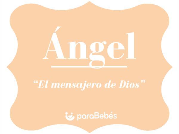 Significado del nombre Ángel