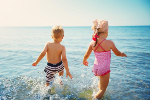 Actividades de espiritualidad para niños/as - Nadar en el mar