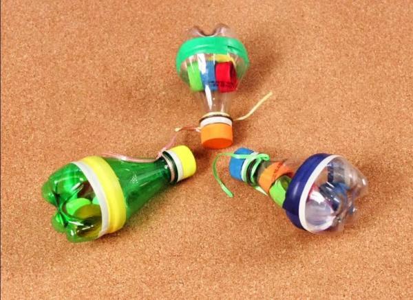 Instrumentos musicales caseros para niños - Maracas