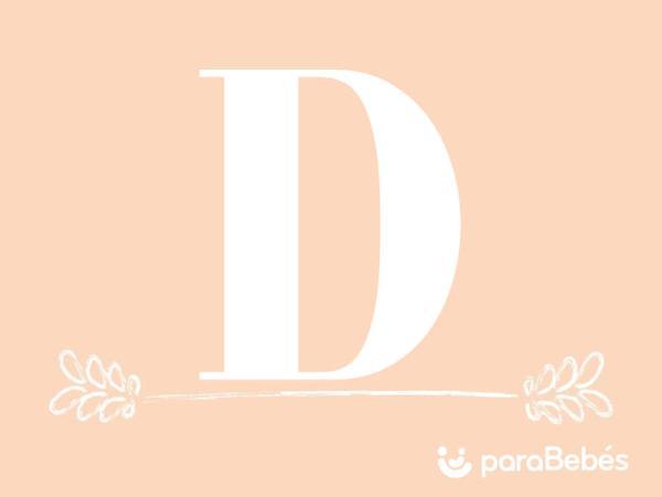 Nombres de niña con la letra D