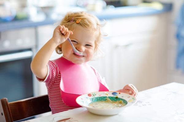 Recetas de Baby Led Weaning - Sopa de verduras