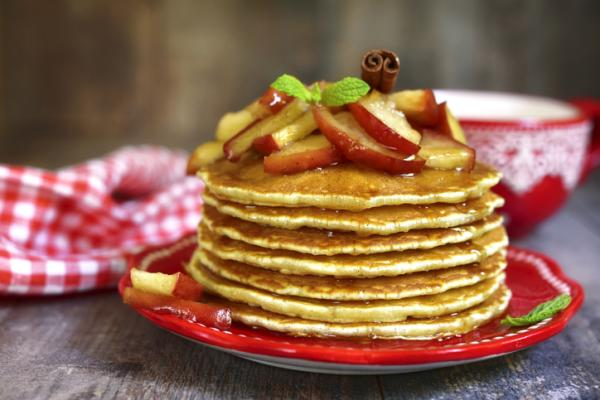 Recetas de Baby Led Weaning - Tortitas de manzana