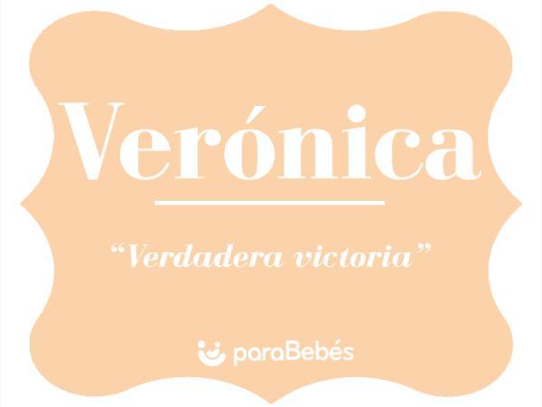 Significado del nombre Verónica