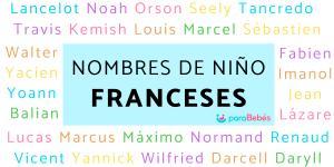 Nombres de niño franceses
