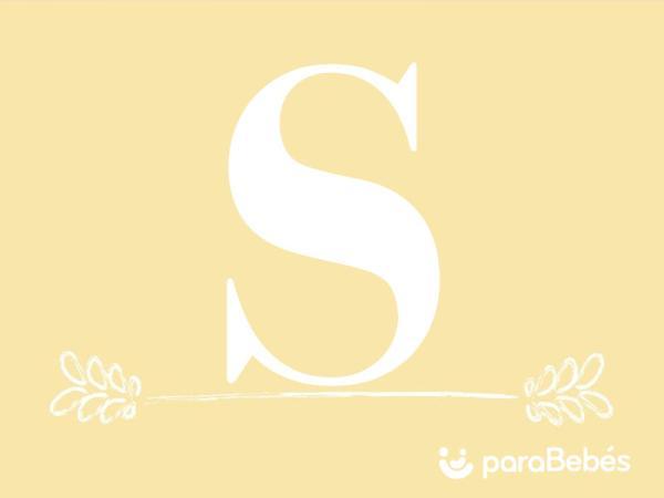 Nombres de niño con la letra S