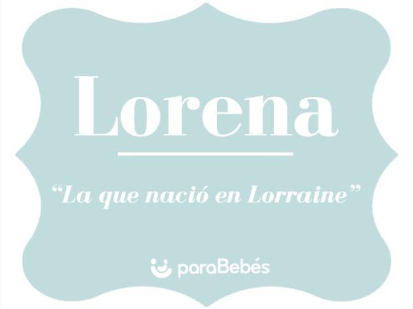 Significado del nombre Lorena